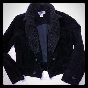 Vintage Black velvety jacket